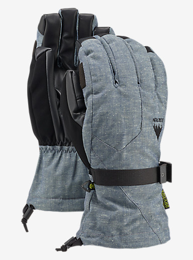 Burton Pyro Glove shown in Chambray
