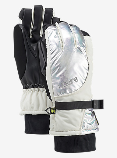 Burton Pele Glove shown in Iridescent / Stout White