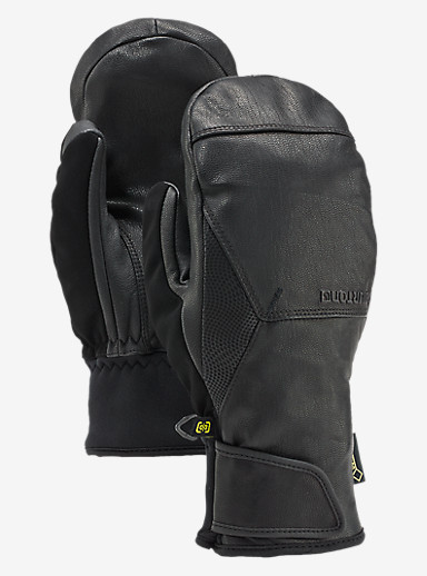 Burton Gondy GORE-TEX® Leather Mitt shown in True Black