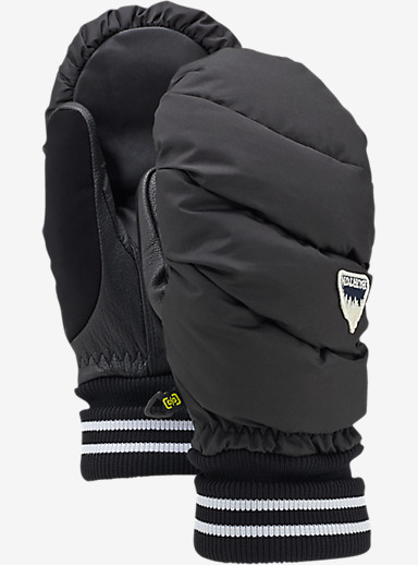 Burton Women's Warmest Mitt shown in True Black