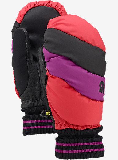 Burton Women's Burton Warmest Mitt shown in Tropic / Grapeseed / True Black