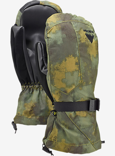 Burton Pyro Mitt shown in Saw Camo
