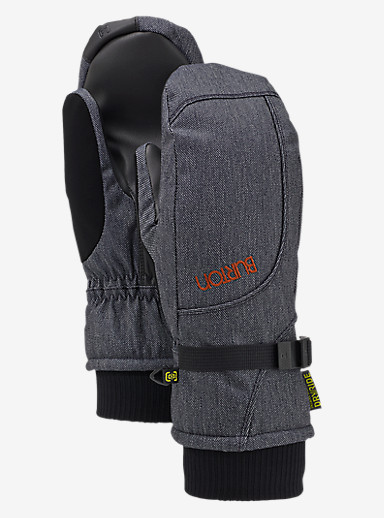 Burton Pele Mitt shown in Denim