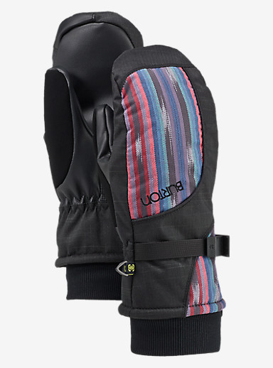 Burton Pele Mitt shown in Mala Stripe
