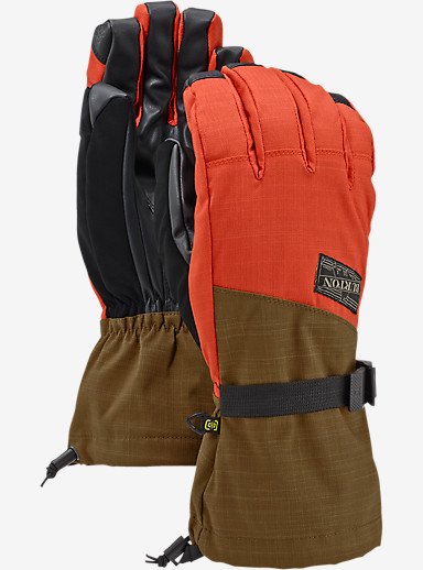 Burton Approach Glove shown in Beaver Tail / Burner