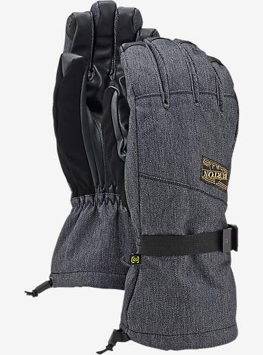 Burton Approach Glove shown in Denim