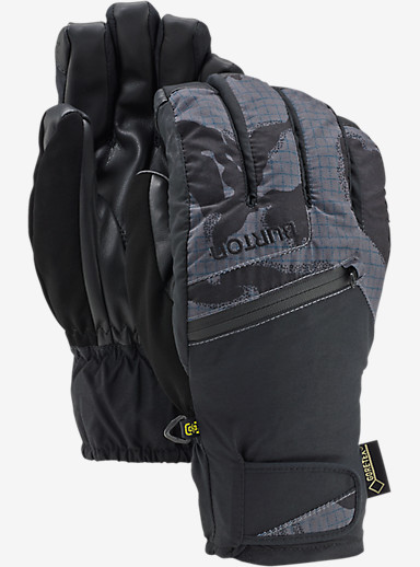Burton GORE-TEX® Under Glove + Gore warm technology shown in True Black DPM Camo