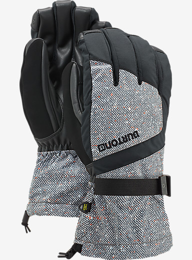 Burton Profile Glove shown in Herringbone / True Black