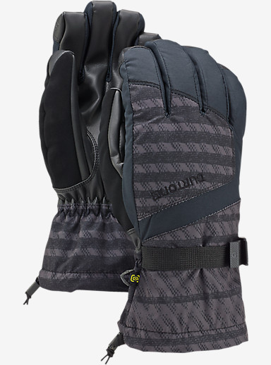 Burton Profile Glove shown in Dawson Stripe / True Black