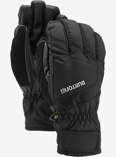 Burton Profile Under Glove shown in True Black