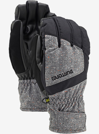 Burton Profile Under Glove shown in Herringbone / True Black