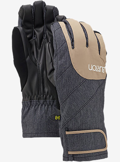 Burton Women's Approach Under Glove shown in Sandstruck / Denim