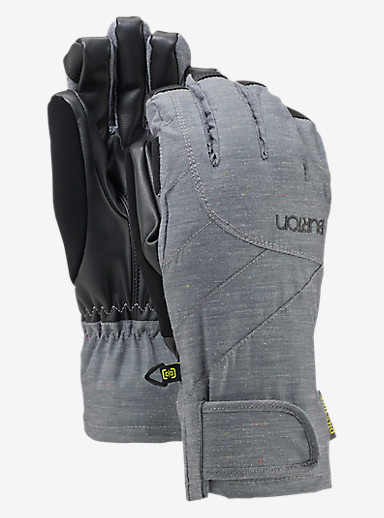 Burton Women's Approach Under Glove shown in Flecked Chambray