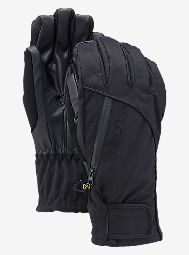 Burton Women's Baker 2-In-1 Under Glove shown in True Black