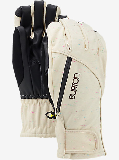 Burton Women's Baker 2-In-1 Under Glove shown in Canvas Color Slub
