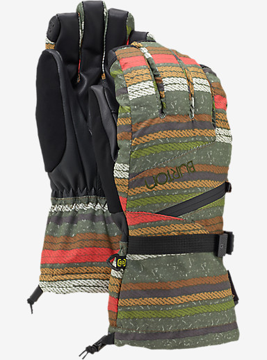 Burton Women's GORE-TEX® Glove shown in Blanket Stripe