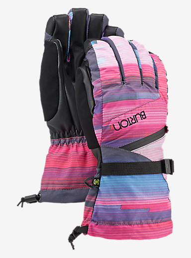Burton Women's GORE-TEX® Glove shown in Coral Flynn Glitch