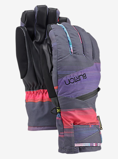 Burton Women's GORE-TEX® Under Glove shown in Coral Flynn Glitch