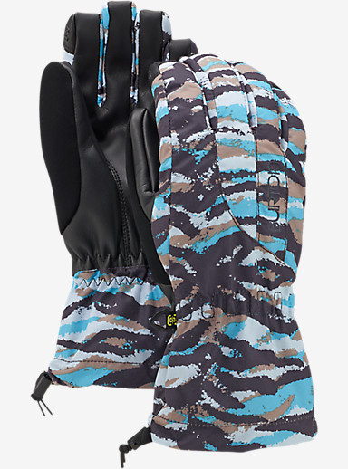 Burton Women's Profile Glove shown in Ultra Blue Tiger