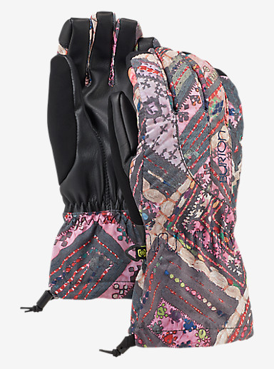 Burton Women's Profile Glove shown in Wanderer Quilt