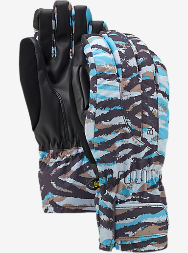 Burton Women's Profile Under Glove shown in Ultra Blue Tiger