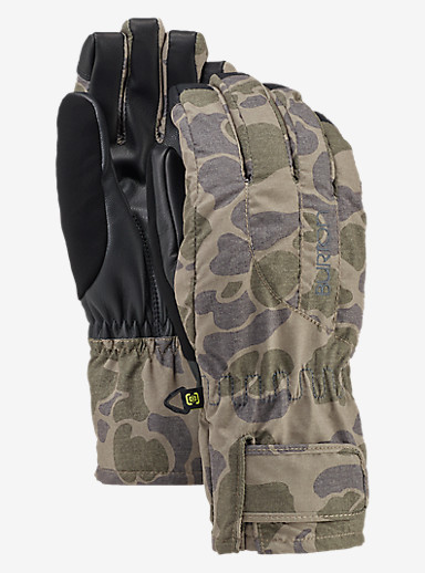 Burton Women's Profile Under Glove shown in Petal Camo
