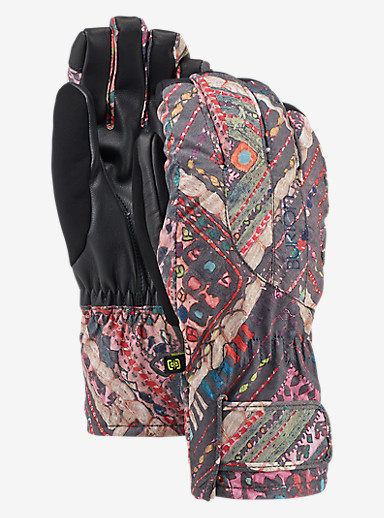 Burton Women's Profile Under Glove shown in Wanderer Quilt