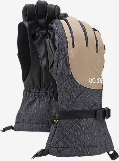 Burton Women's Approach Glove shown in Sandstruck / Denim