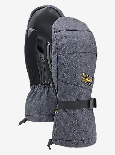Burton Approach Mitt shown in Denim
