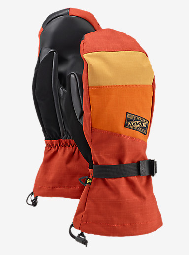 Burton Approach Mitt shown in Picante / Maui Sunset / Syrup
