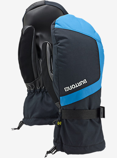 Burton Profile Mitt shown in True Black / Glacier Blue