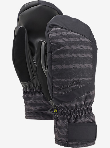 Burton Profile Under Mitt shown in Dawson Stripe / True Black