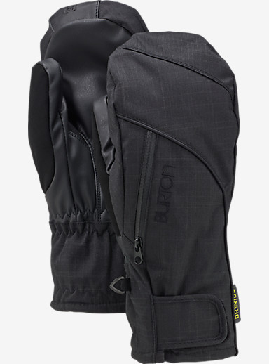 Burton Women's Baker 2-In-1 Under Mitt shown in True Black