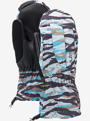 Burton Women's Profile Mitt shown in Ultra Blue Tiger