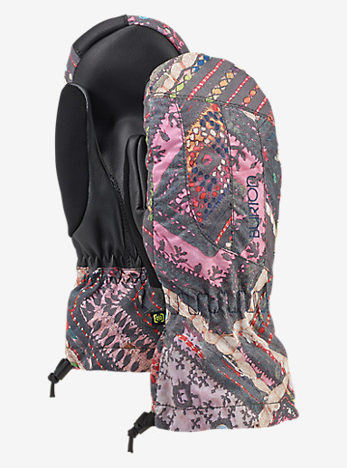 Burton Women's Profile Mitt shown in Wanderer Quilt
