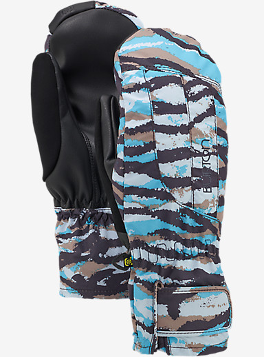 Burton Women's Profile Under Mitt shown in Ultra Blue Tiger