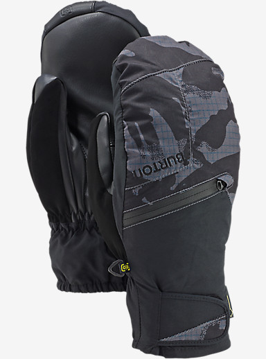 Burton GORE-TEX® Under Mitt + Gore warm technology shown in True Black DPM Camo