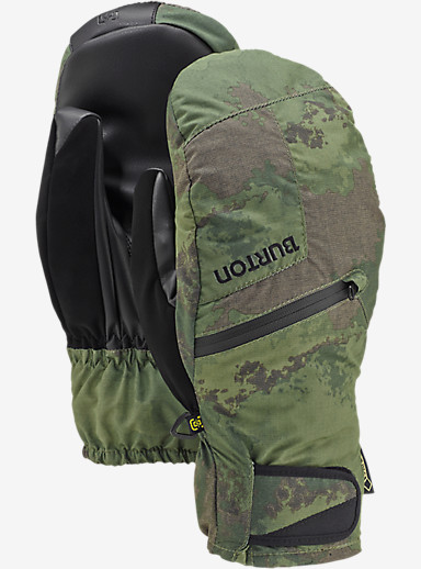 Burton GORE-TEX® Under Mitt + Gore warm technology shown in Oil Camo