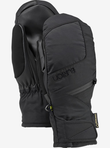 Burton Women's GORE-TEX® Under Mitt + Gore warm technology shown in True Black