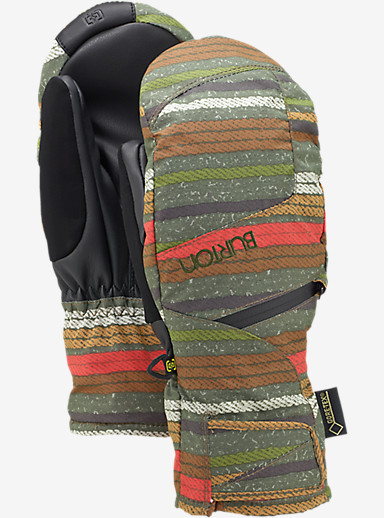 Burton Women's GORE-TEX® Under Mitt + Gore warm technology shown in Blanket Stripe