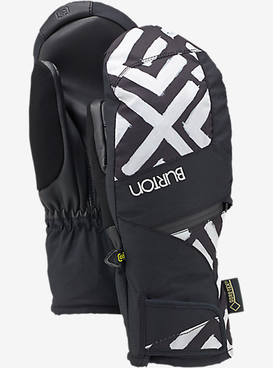 Burton Women's GORE-TEX® Under Mitt + Gore warm technology shown in Geo / True Black