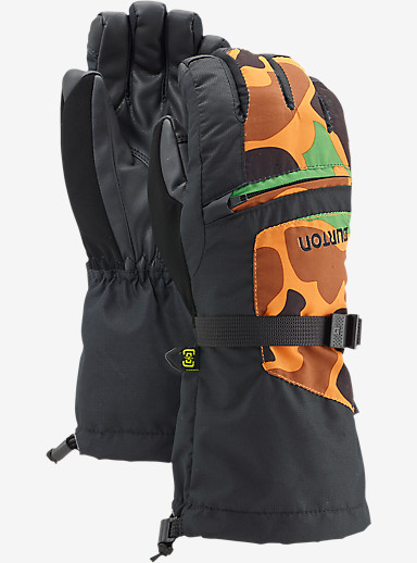 Burton Youth Vent Glove shown in Safety Duck Hunter Camo