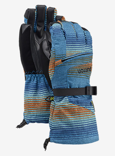 Burton Kids' Vent Glove shown in Glacier Beach Stripe
