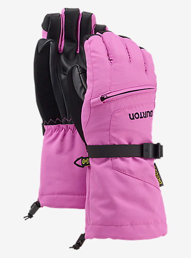 Burton Kids' Vent Glove shown in Super Pink