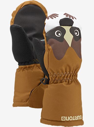 Burton Minishred Grommitt Mitt shown in Raccoon