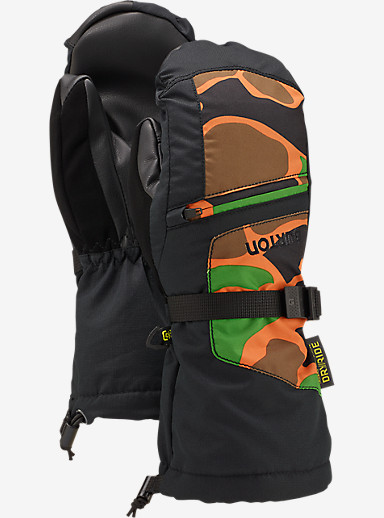 Burton Youth Vent Mitt shown in Safety Duck Hunter Camo