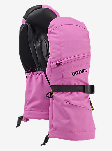 Burton Kids' Vent Mitt shown in Super Pink