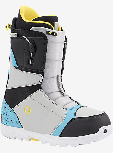 Burton Moto Snowboard Boot shown in Black / Multi