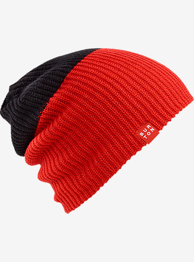 Burton All Day Long Beanie shown in True Black / Burner