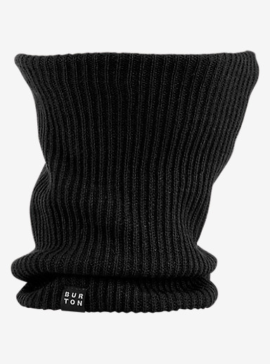 Burton Truckstop Neck Warmer shown in True Black